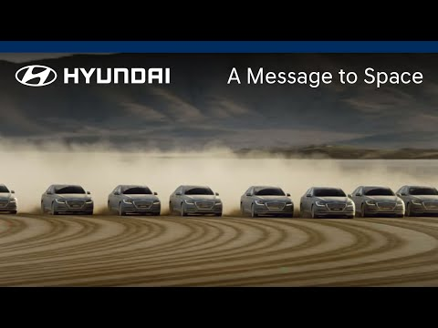 Hyundai A Message to Space Behind the Scenes