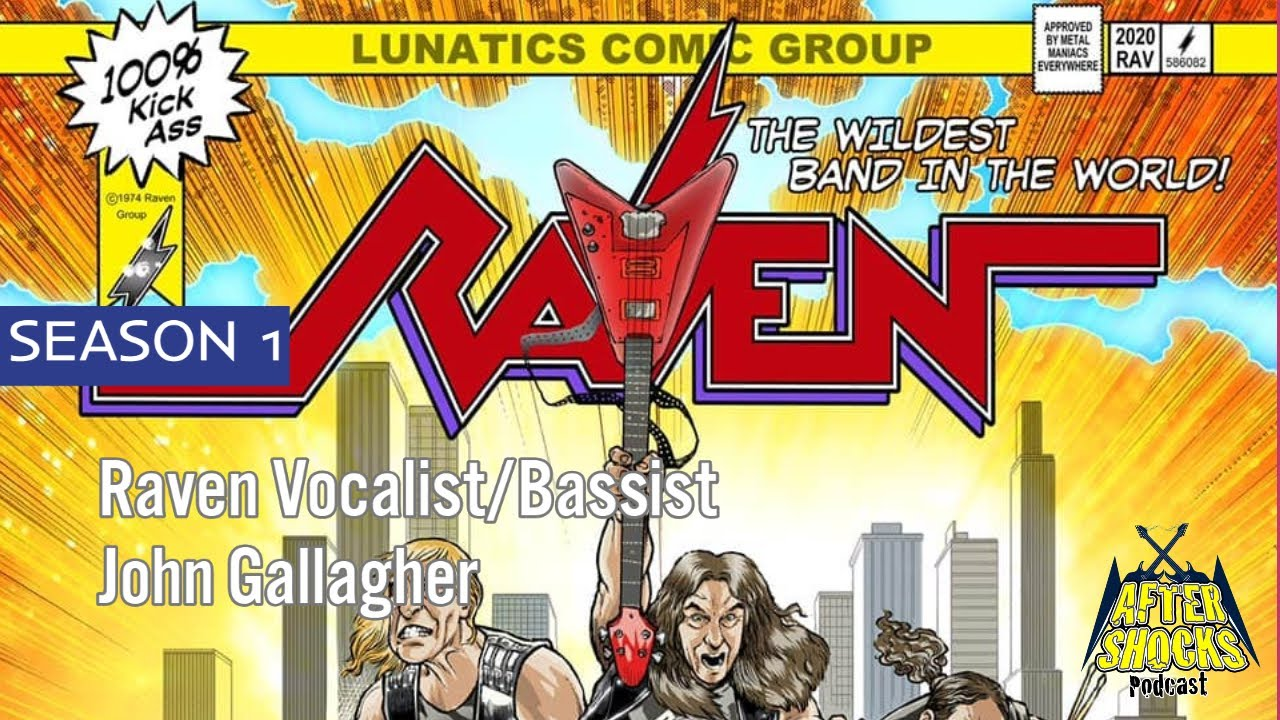 Raven - On and On - Vocalist John Gallagher Talks METAL CITY