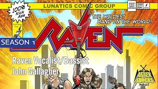 Raven – On and On – Vocalist John Gallagher Talks METAL CITY