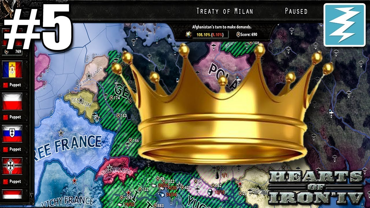 PEACE CONFERENCE MASTERY [5] Persia - Hearts of Iron IV