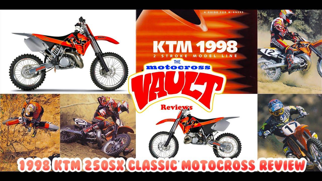 1998 KTM 250SX Classic Motocross Review