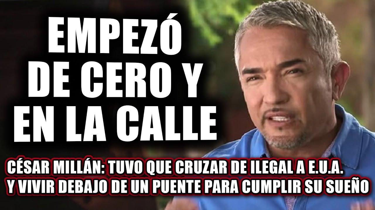 César Millán Fue De Pobre, Inmigrante Y Vagabundo, A MILLONARIO / Su Historia / ¿Cómo Se Hizo Rico?