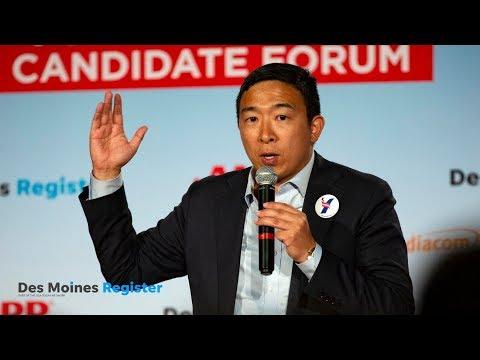 Full video: Andrew Yang   AARP/Des Moines Register forums (14/17) (7.19.19)