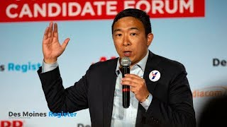 Full video: Andrew Yang speaks at the AARP/Des Moines Register forums 14/17)
