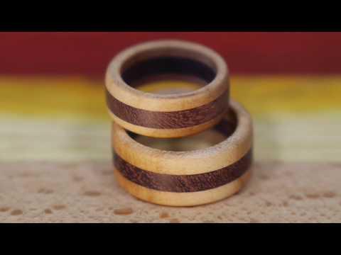 Wooden ring making