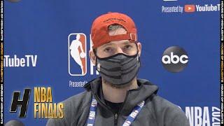 Goran Dragic Postgame Interview - Game 6   Heat vs Lakers   October 11, 2020 NBA Finals