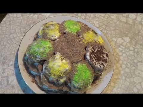 Торт сникерс с крекером