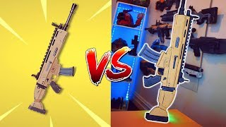 FORTNITE WEAPONS IN REAL LIFE ? FUN MOMENTS IN FORNITE BATTLE ROYALE Dutygameplays