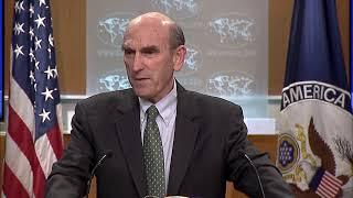 Briefing with Special Representative for Venezuela Elliot Abrams - 2:00 PM