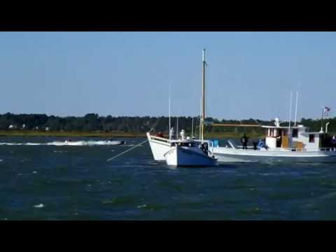 Poquoson Seafood Festival Workboat Races, Messick Point Oct. 2016
