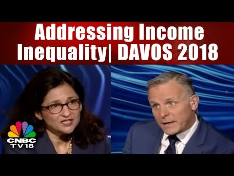 Addressing Income Inequality   DAVOS 2018   CNBC TV18