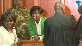3f711af821ee Jovial Jacque Maribe returns to court ahead of the bail ruling case