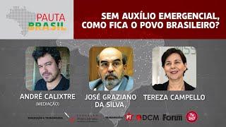 #Aovivo | Sem auxílio emergencial, como fica o povo brasileiro?| Pauta Brasil