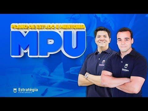 Plano de Estudo para Concurso MPU c/ Mentoria