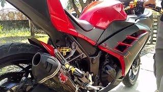 Modifikasi Kawasaki Ninja 250 Fi - Aksesoris Bikers Gold