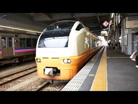 JR東日本 特急いなほ8号 (E653系運行) 超広角車窓 進行右側 秋田~新潟