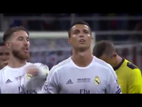 Tension - madness - nerves Ronaldo's penalty in the Champions League final with Atletico Madrid