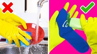 38 GENIUS CLEANING HACKS