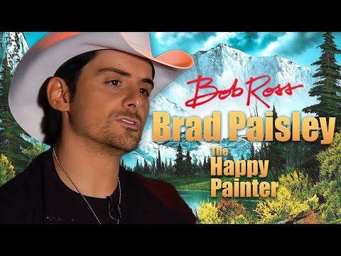 Brad Paisley - Bob Ross: The Happy Painter