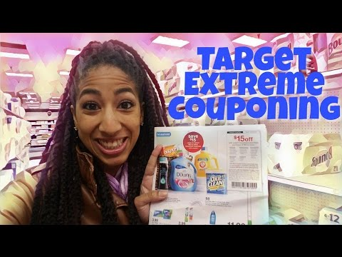 Target Extreme Couponing Stock Up On Household Deals