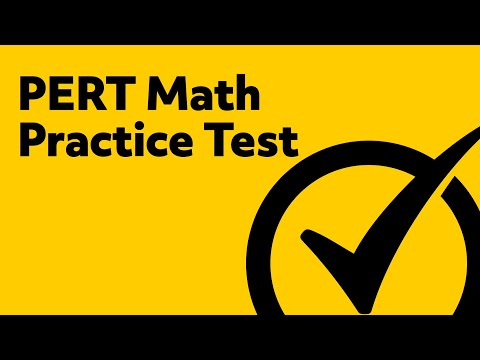Best Free PERT Math Practice Test!
