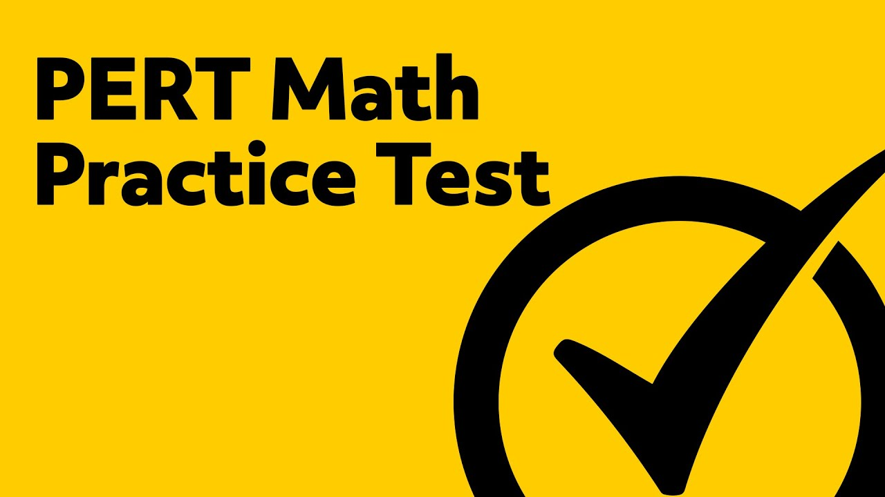 Free PERT Math Practice Test - YouTube