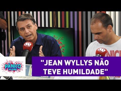 """Jair Bolsonaro: """"Jean Wyllys não teve humildade""""   Pânico"""