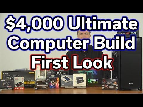 $4,000 Ultimate Computer Build - Part 1 - Parts Review