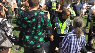 Vancouver Police Go Wild and Violently Arrest Peaceful Cannabis Day Protesters