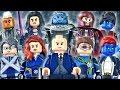 LEGO Marvel : X-Men Minifigures - Showcase