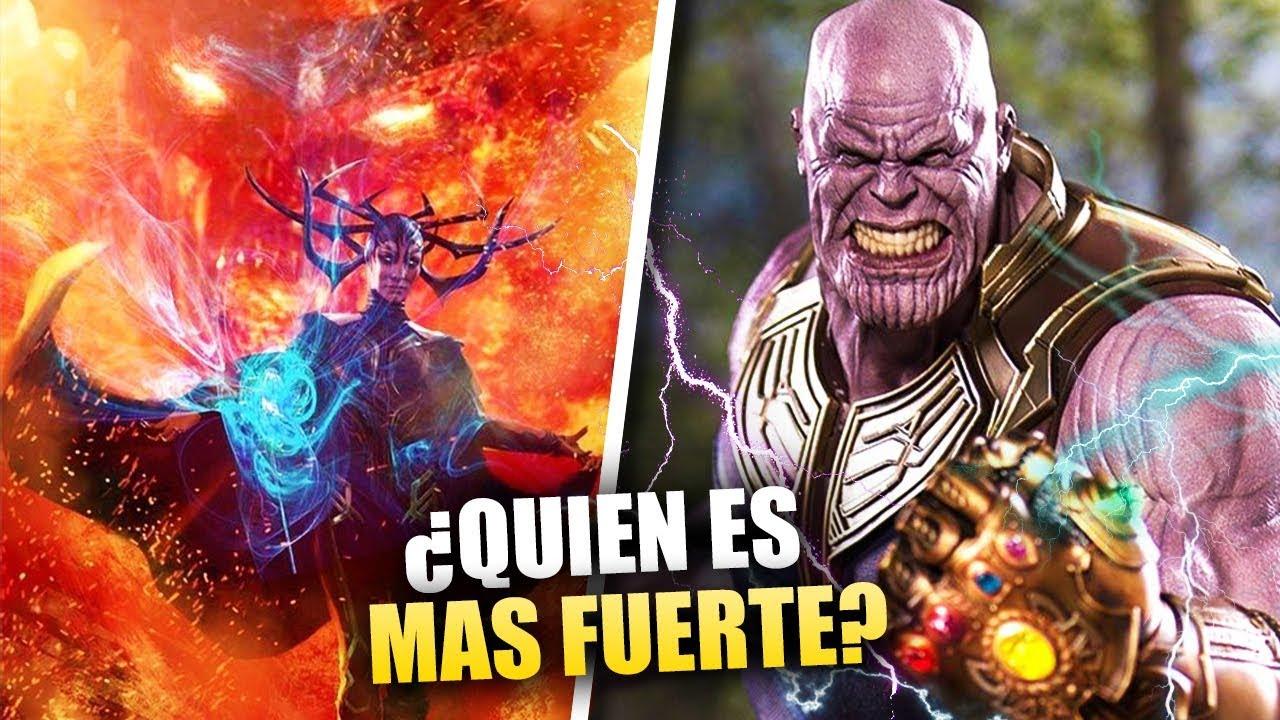 Todos Los Villanos De Marvel Ordenados Por Niveles De Poder Youtube
