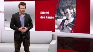 Damen Stiefel in Übergrößen. Große Schuhe bei schuhplus. Schuh des Tages - 28.11.2014