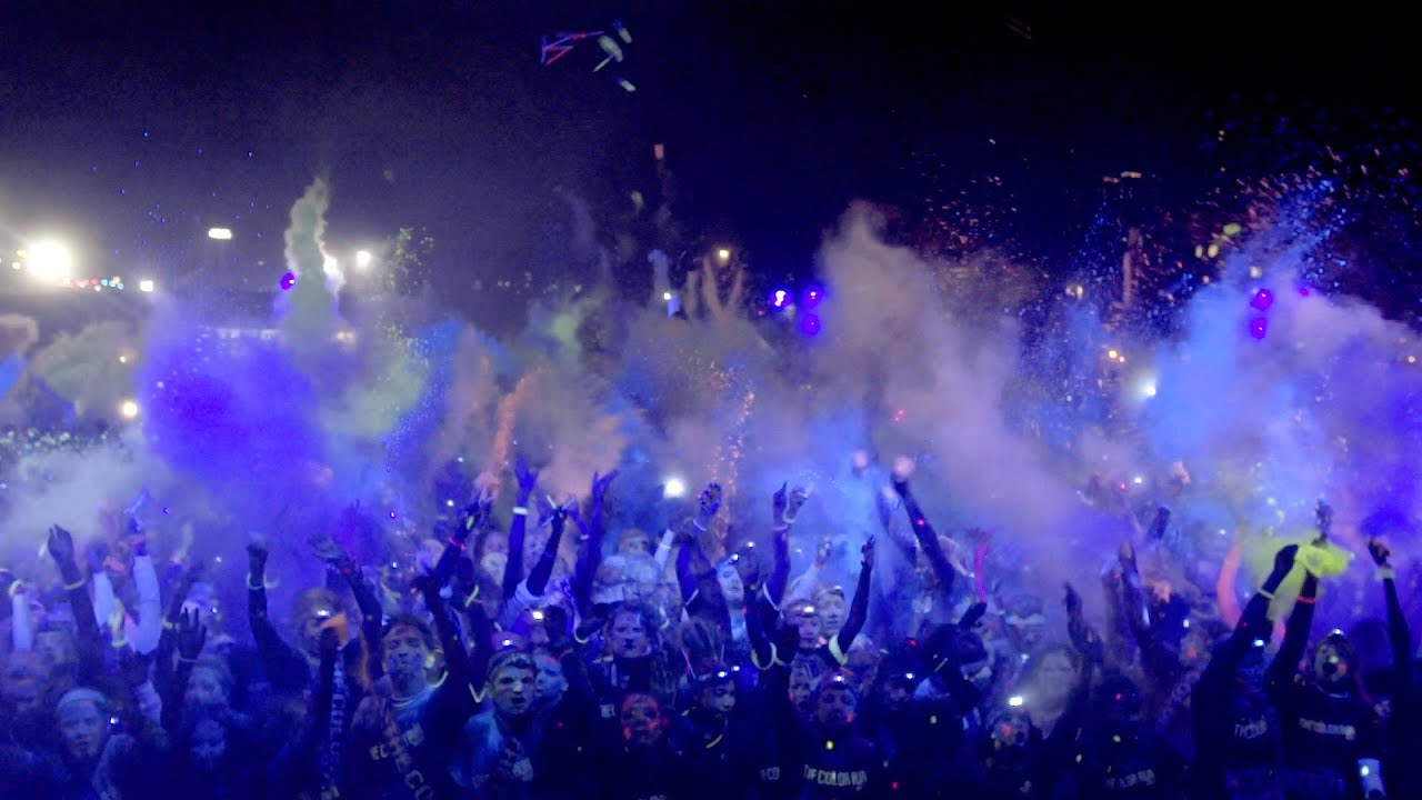 the color run night official video youtube