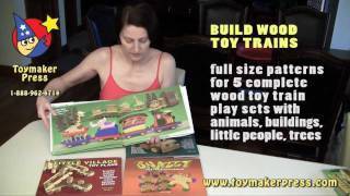 Wood Toy Plans - Four Great Books For Scroll Saw And Table Saw Toys