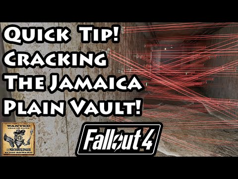 Fallout 4 - Jamaica Plain ID Card and Password Location  - 4K Ultra HD