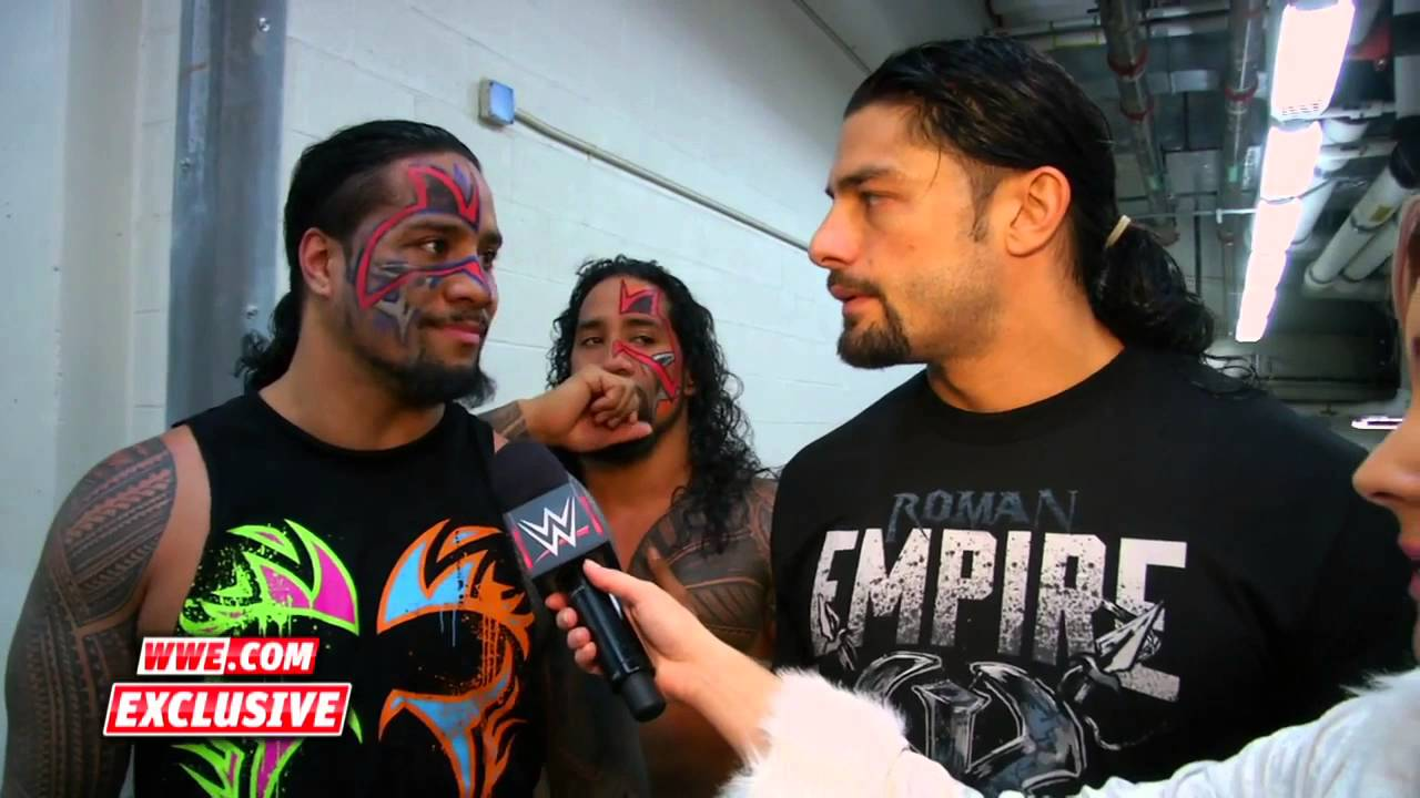 The usos amp roman reigns smackdown fallout youtube