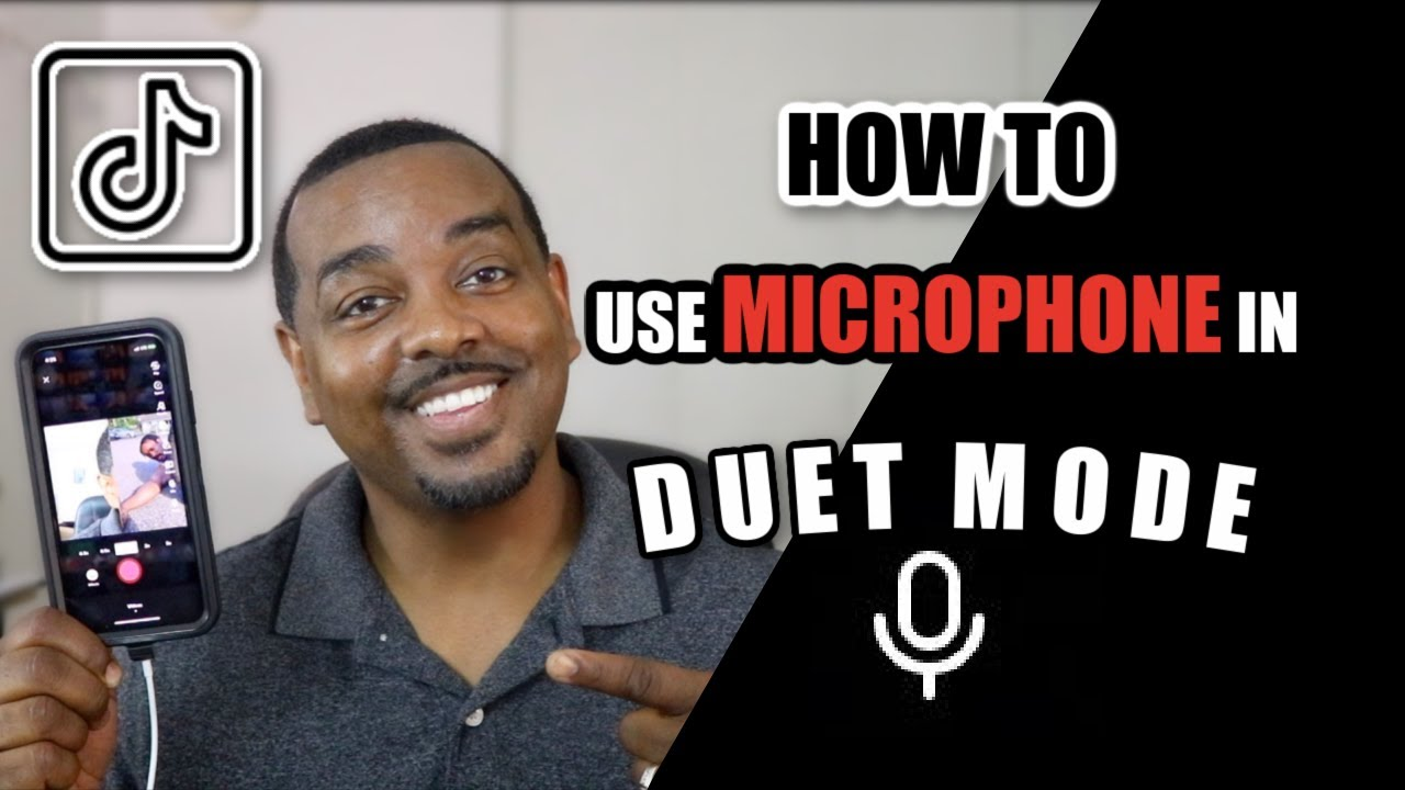 How To Use Microphone In Duet Mode On Tiktok How To Tutorial Youtube