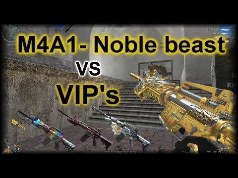 Crossfire NA: M4A1-S Noble Beast VS M4A1-S VIP's | Comparison + Gameplay