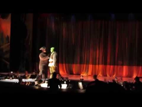 Shrek The Musical - Plays In The Park (The Travel Song) 7/18/2014