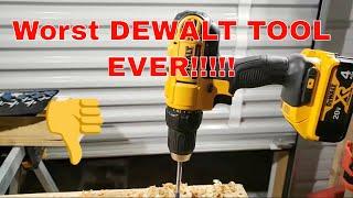 Dewalt On Fire LIVE Dewalt drill starts smoking after first 10 minutes