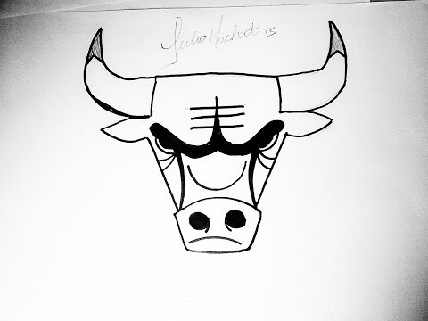 [NBA] How to Draw Chicago Bulls Logo