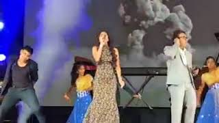 Cover images Senthoora live performance - Luksimi Sivaneswaralingam & D Imman