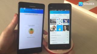 sHAREit Tutorial How to transfer files from Android to WindowsPhone