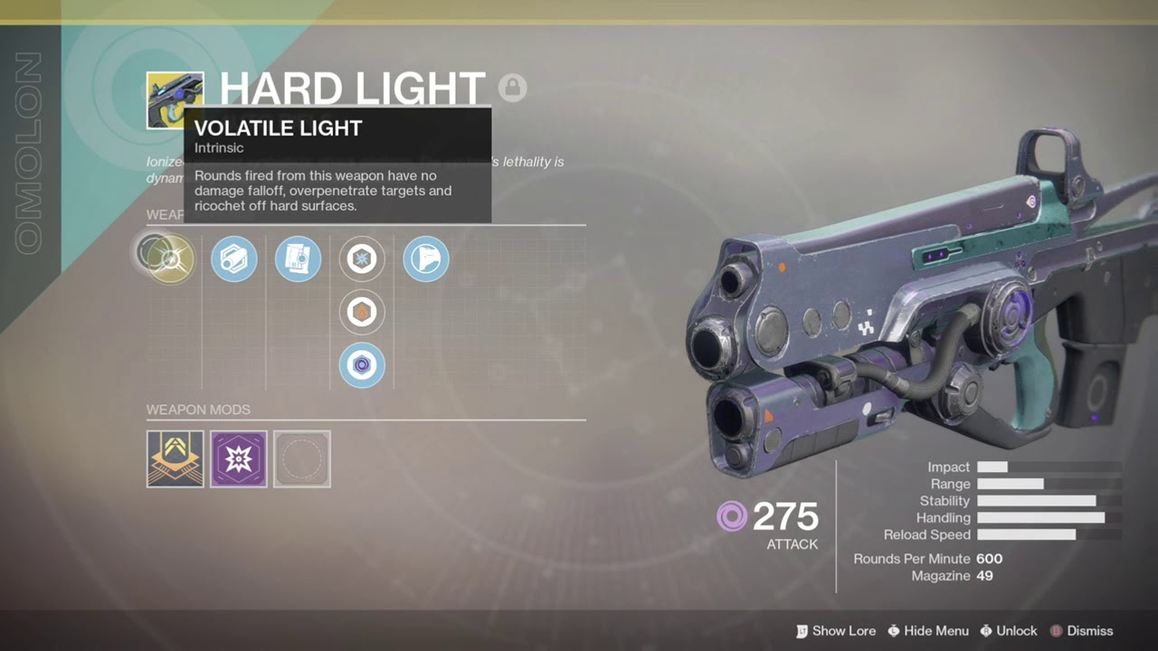 Destiny 2 Hard Light Youtube
