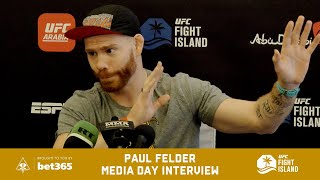 PAUL FELDER WOULD TAKE DIAZ FIGHT IF NO ONE ELSE WILL
