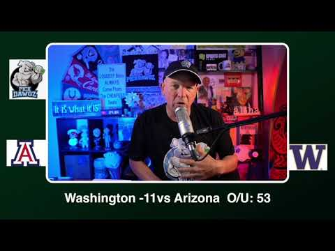 Washington vs Arizona 11/21/20 Free College Football Picks and Predictions CFB Tips  Pick Dawgz