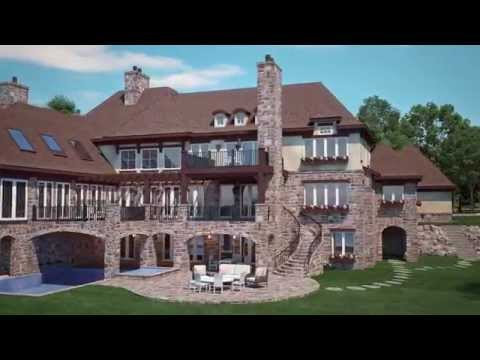 LUXE Homes Design + Build, Tuscan Villa Lake Home