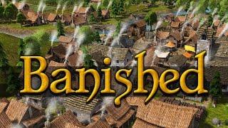 Обзор Banished + Геймплей. Стратегия в стиле легендарных Settlers.