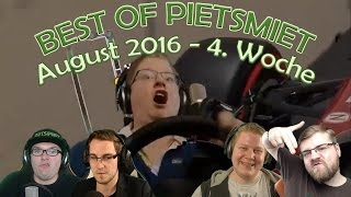 Repeat youtube video BEST OF PIETSMIET [FullHD|60fps] - August 2016 - 4. Woche