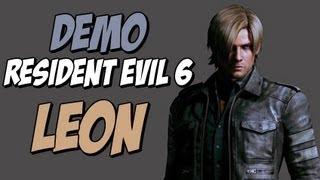 NOVA DEMO de Resident Evil 6 - GAMEPLAY